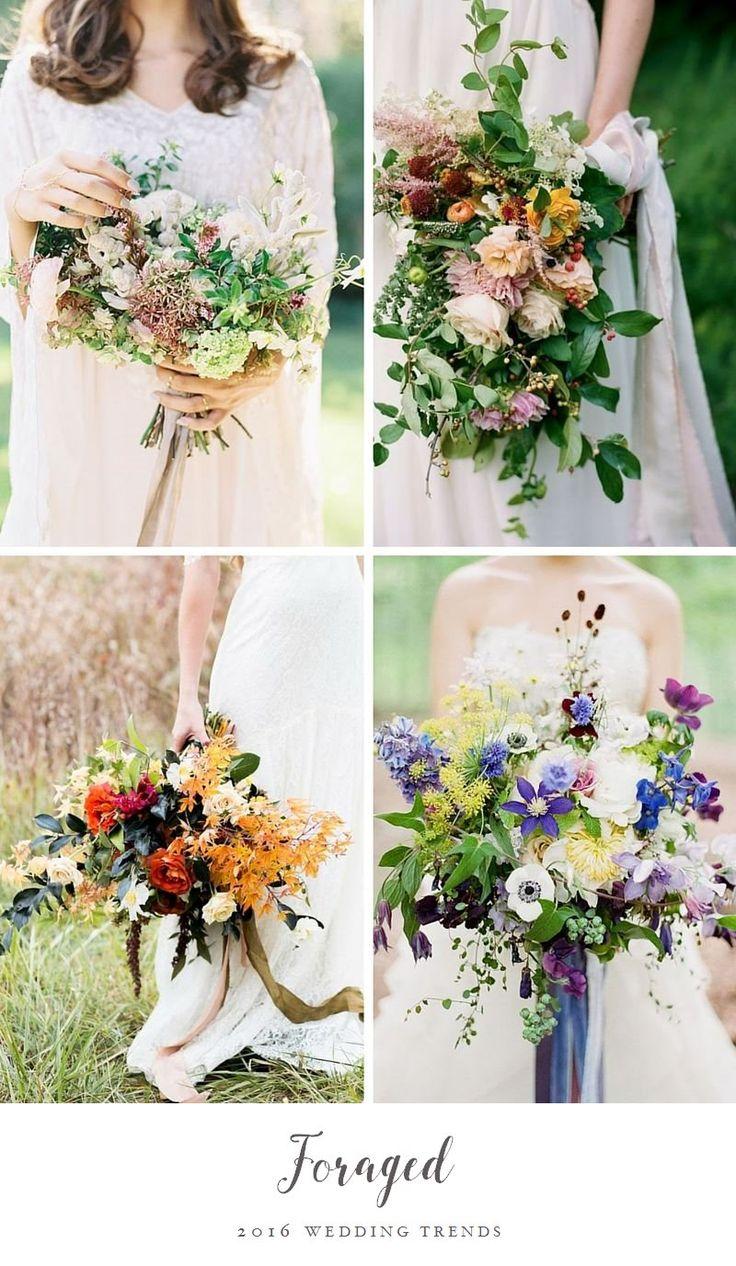 Top Wedding Trend - Foraged Flowers