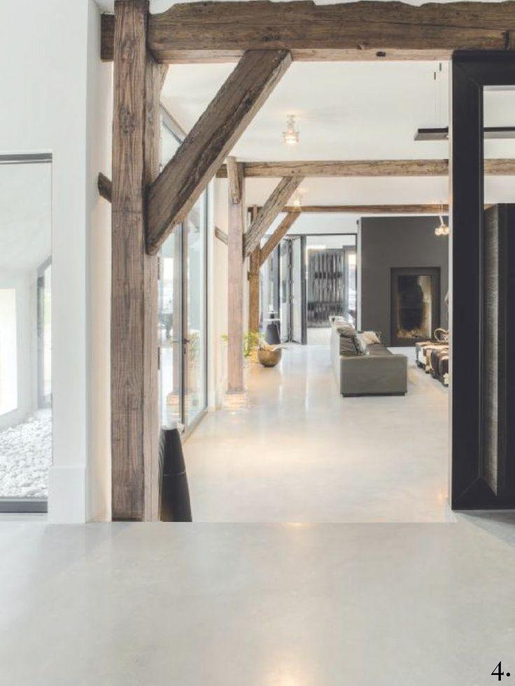 Coll houten plafondbalken-04