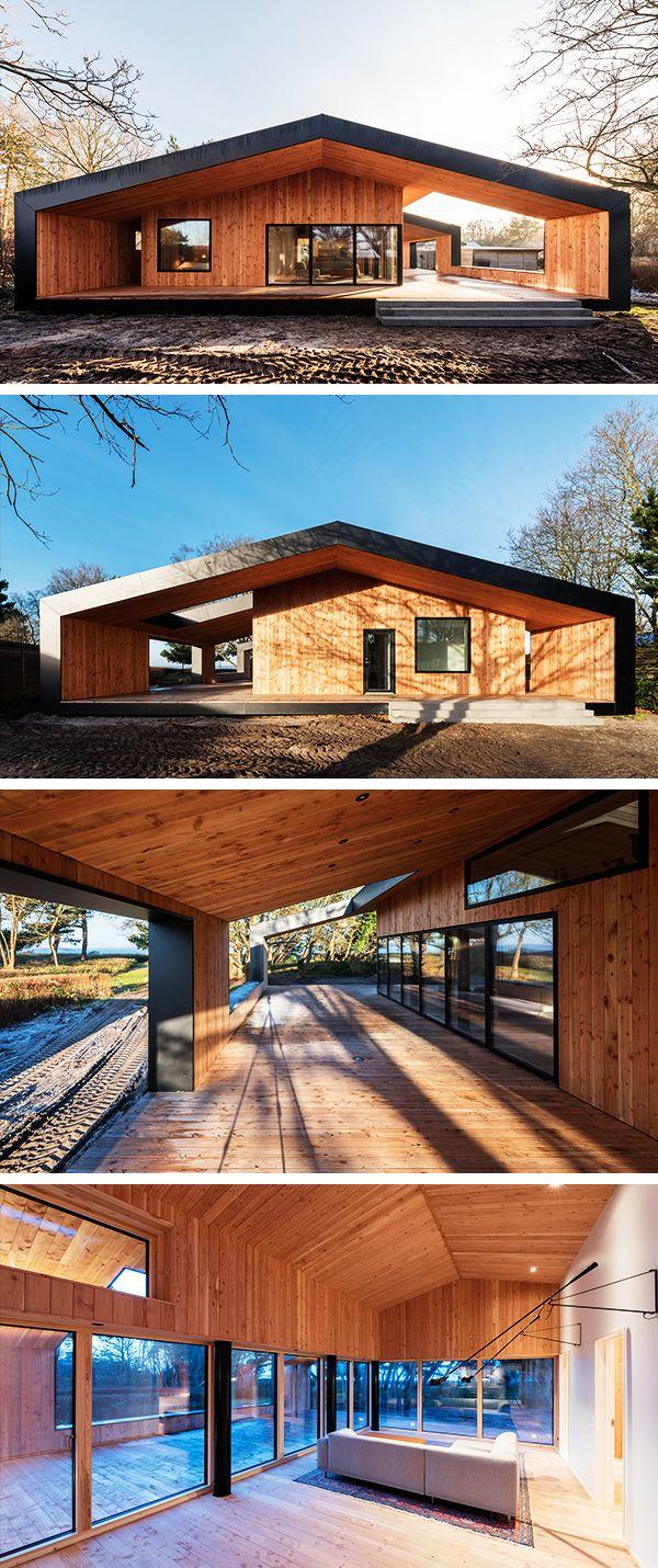 Treldehuset Summer House by CEBRA in Vejle, Denmark