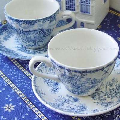 dfjghkj: White Tea, Blue Blue, Cup Tuesday, Teas, Cup Time, Cup Memory, Tea Cups, Place, Blue And White