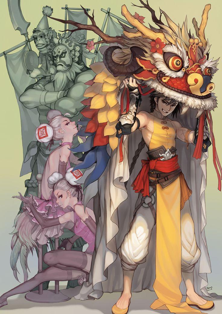 chinese dragon ideas