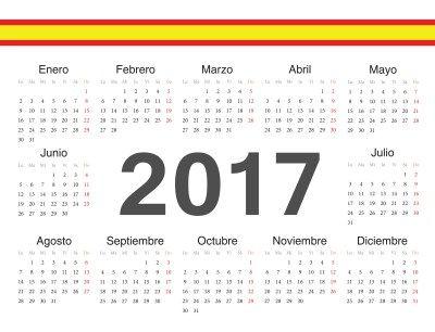 NUEVA Colección de calendarios y planificadores 2017 Gran Formato. Listos para…