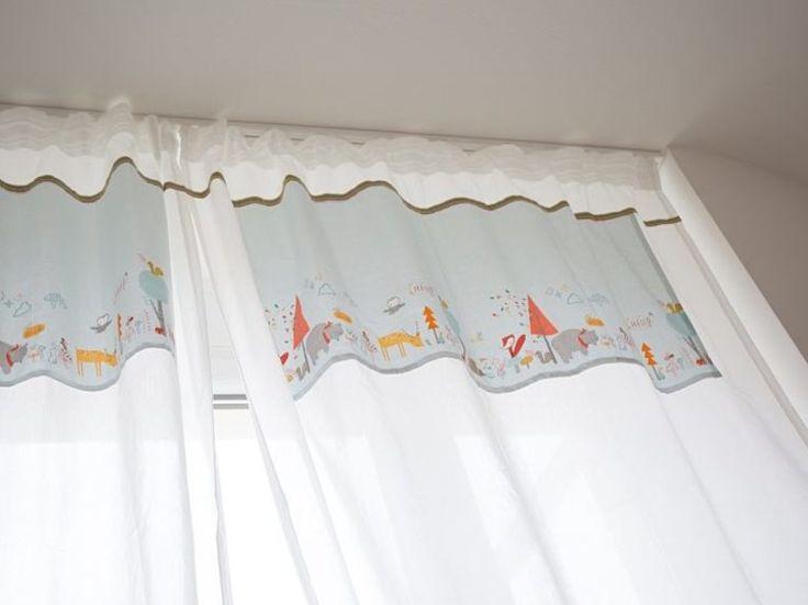 Best DIY Anleitung Vorh nge f rs Kinderzimmer n hen via DaWanda