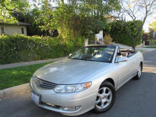 Convertible, 2002 Toyota Solara SLE with 2 Door in Sherman Oaks, CA (91423)