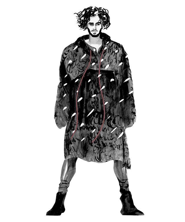 Джон Сноу в Dolce & Gabbana