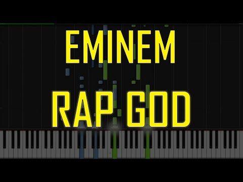 Eminem Rap God Piano Tutorial