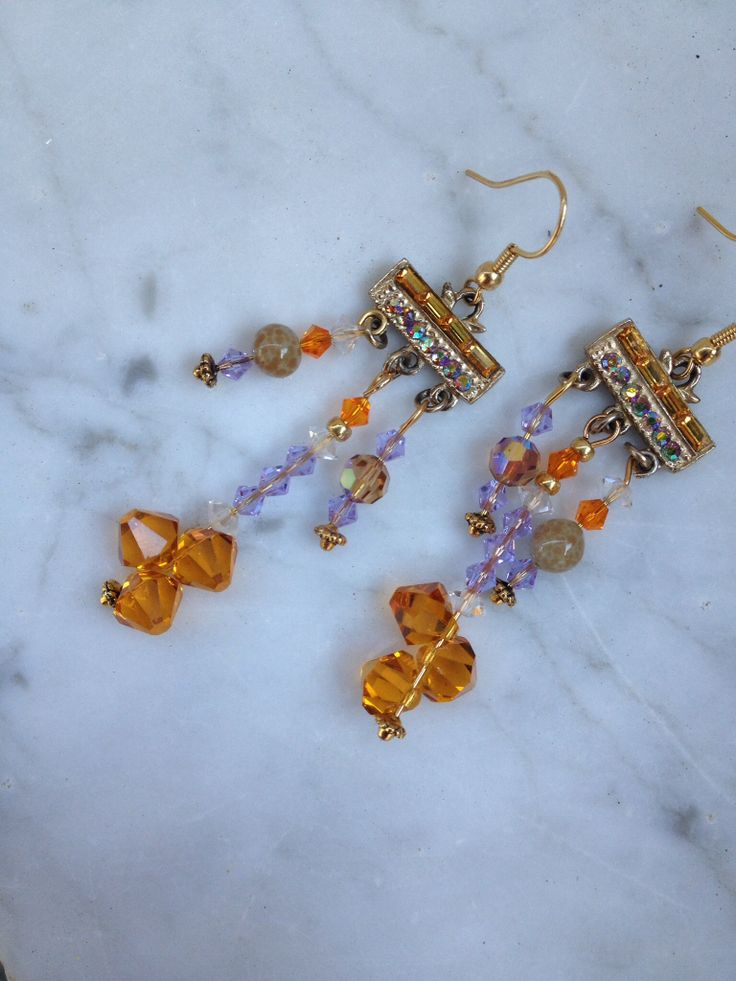 Vendome necklace clasp earrings