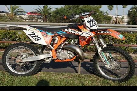 Used 2012 #Ktm 125 sx #Mx_Motorcycle in Hialeah-Miami @ http://www.bikesjunction.com