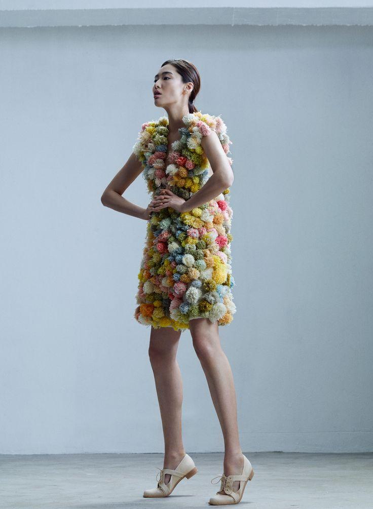 Amy Ward pompom dress