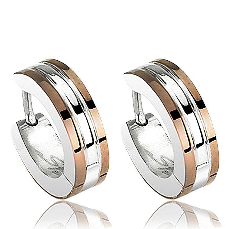 Gros anneaux boucles d'oreilles homme