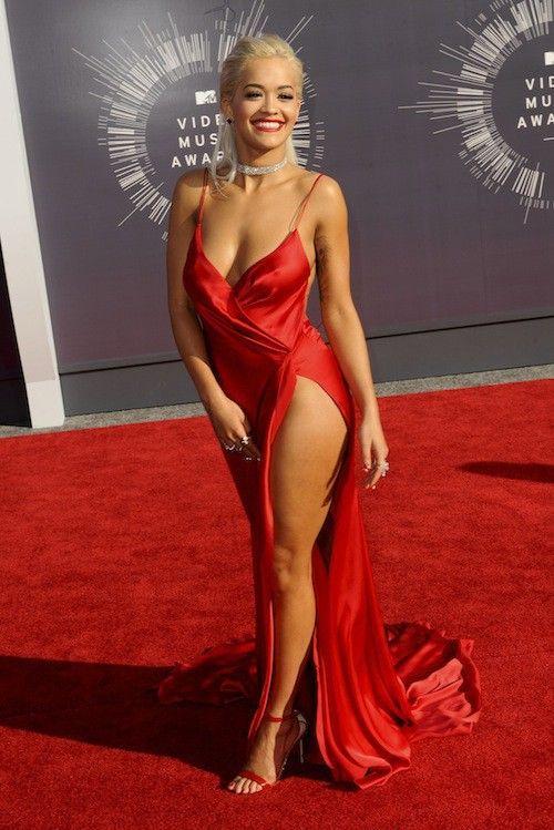 Rita Ora Is A Peach Wwwcelebritypeachcom BIG BOOBS