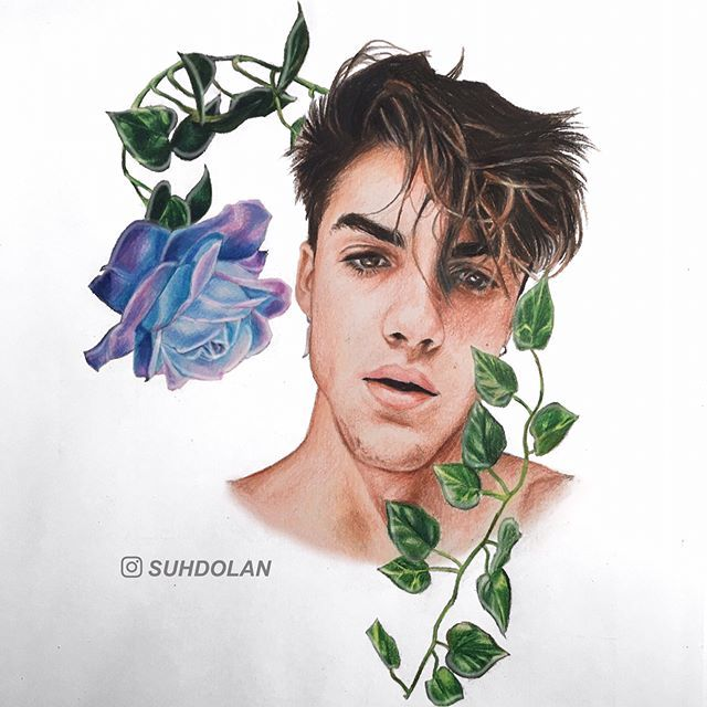 🌬✨🔮 | @graysondolan  song: By Design by Kid Cudi  - dt @kefidolan and @titledolan 💗💗💗  - HII im so excited about this one i had no idea what i was doing w the animation thing but it came out better than i expected :') i hope you guys like it 💜  - also thank you @supportdolans for the colored photo of grayson !! 💞  - Cudi is my fav <3