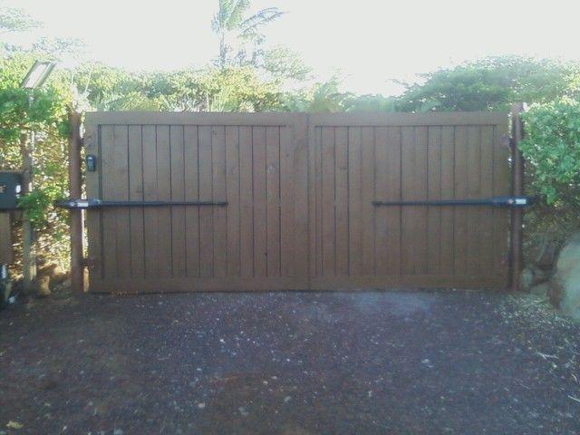 diy wooden gate plans