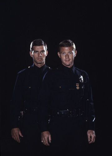 Adam-12 Promo shot...loved this show when I was young-thought every cop should look like these 2...