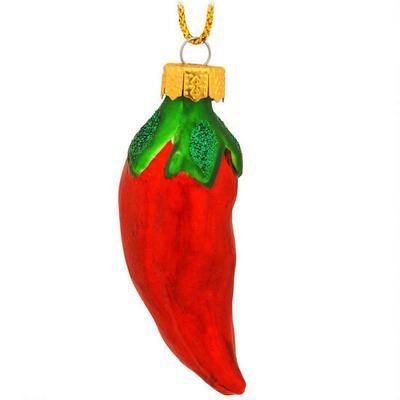 Chili Pepper Glass Ornament | Ornaments | Pinterest | Ornaments, Christmas  Ornaments and Christmas - Chili Pepper Glass Ornament Ornaments Pinterest Ornaments