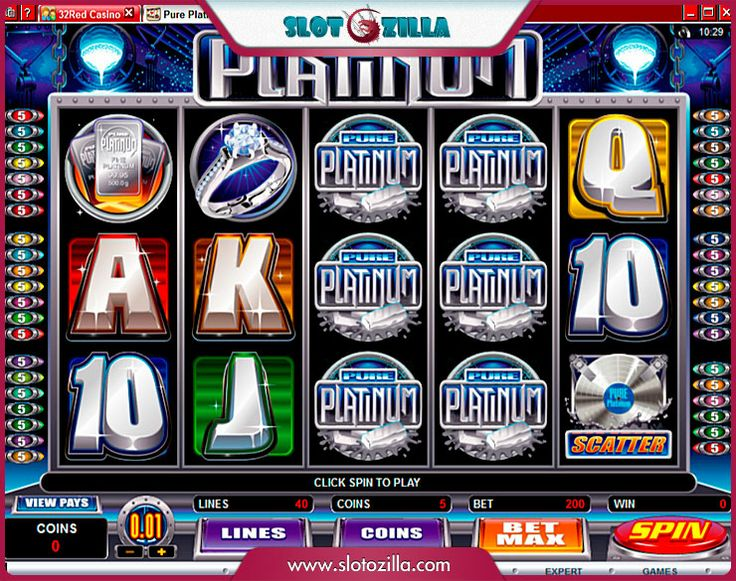 Pure Platinum free #slot_machine #game presented by www.Slotozilla.com - World's biggest source of #free_slots where you can play slots for fun, free of charge, instantly online (no download or registration required) . So, spin some reels at Slotozilla! Pure Platinum slots direct link: http://www.slotozilla.com/free-slots/pure-platinum