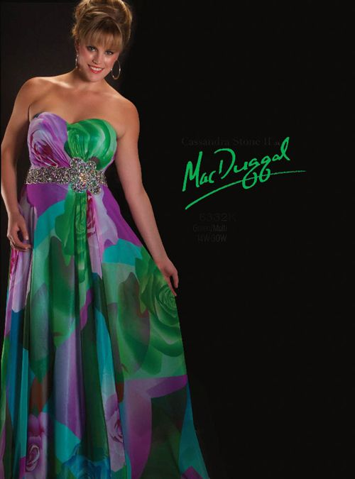 Astra Formal - MacDugall 6332 | Size 20 Green