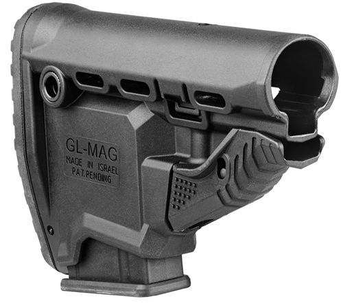 M4/AR-15 Survival Buttstock w/Built in Magazine Carrier - GL-MAG