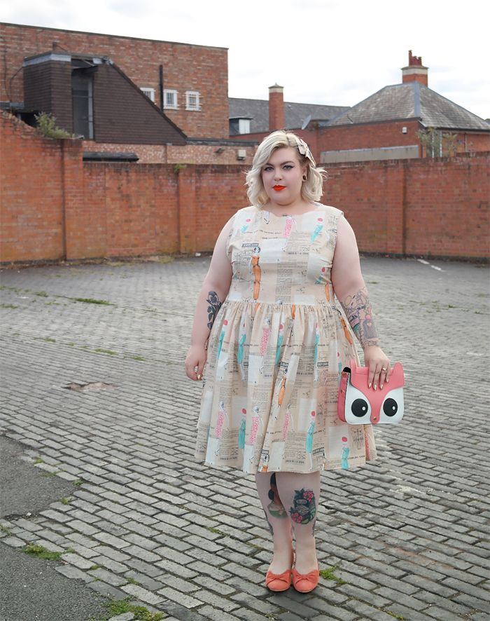 Fifties frock fun with Silly Old Sea Dog