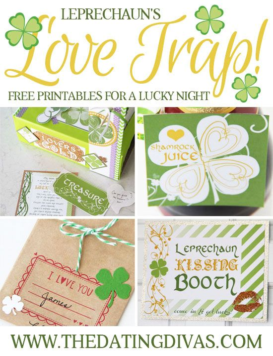 Loving this idea to spice up St. Patrick's Day with a fun and sassy scavenger hunt!