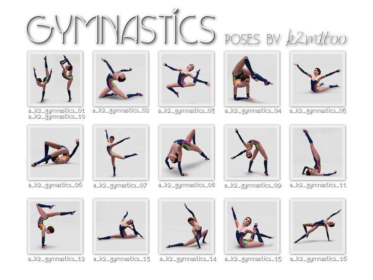 Gymnastic Poses Names