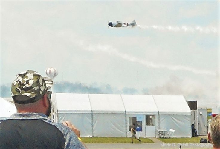 2016 air show . the beginning of the Pearl Harbor re-enactment ..called Tora Tora