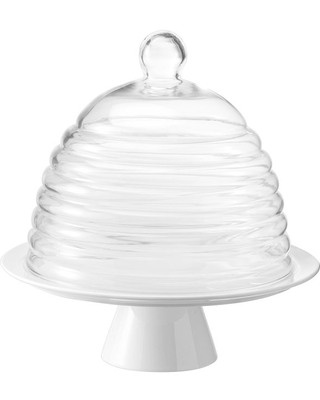 Cake Stand With Dome Beehive