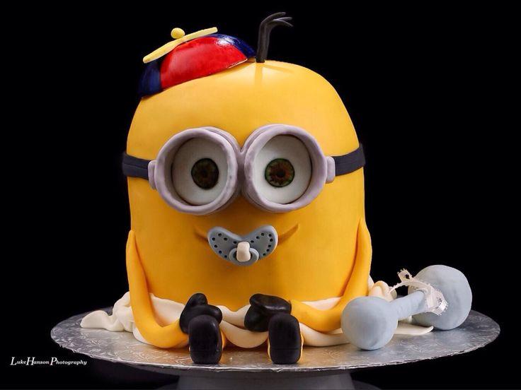 Jacksominion Baby Shower Cake