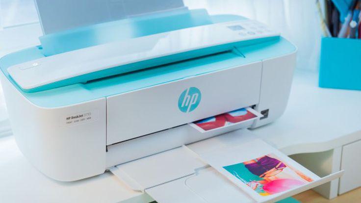HP Deskjet 3755 inkjet printer boasts 'world's smallest all-in-one' design