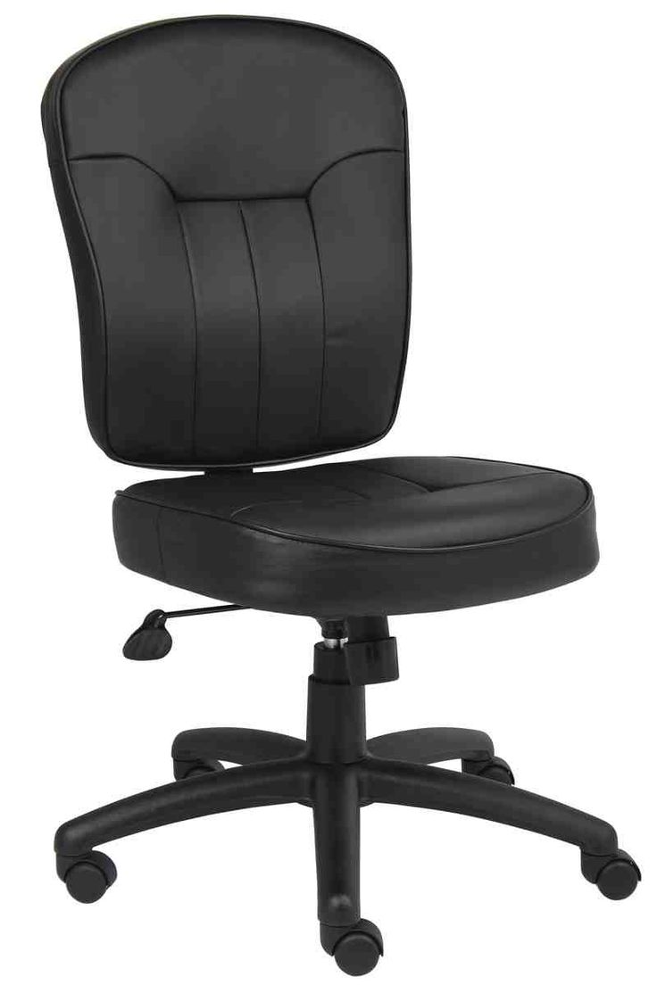 Armless Leather Chairs 41 best leather office chair images on pinterest | leather office