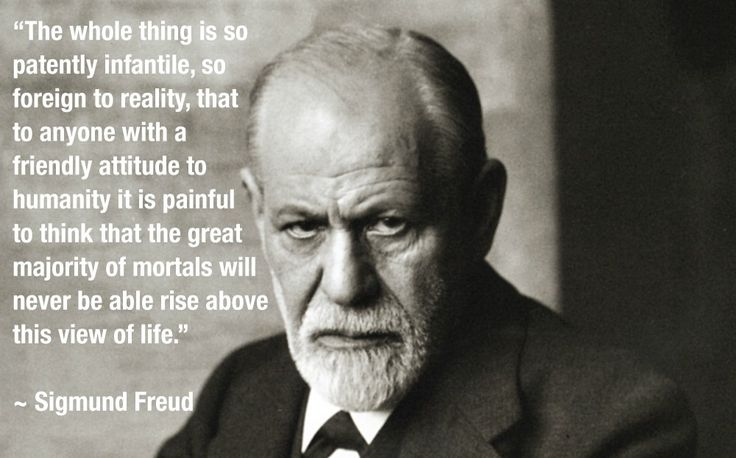 Freud on religion /via rivsay0810 #reddit #atheism #religions