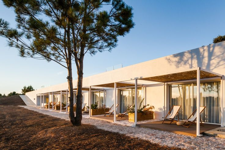 Project designed by [i]da arquitectos - Pe no Monte Rural Tourism in Odemira