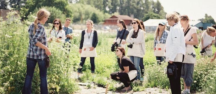 Flower growing workshops