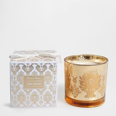 VELA CILINDRO WHITE JASMINE - Fragancias - Navidad | Zara Home España
