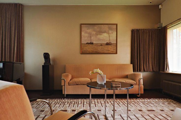 Living room of the Sonneveld House - Rotterdam NL