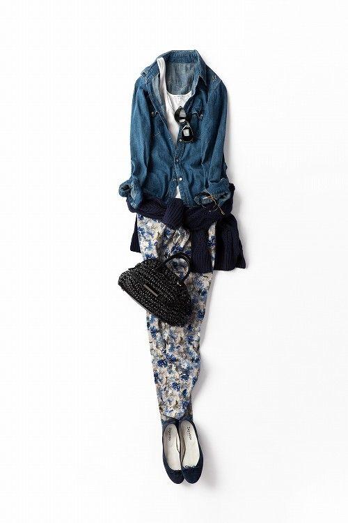 今年の春¨柄¨を楽しむ!2013-04-26  sweater price :8,400 brand : ELFORBR elforbr.com/ | jeans price :9,975 brand : ELFORBR | shirt  D.M.G. http://www.dmg-spellbound.jp/