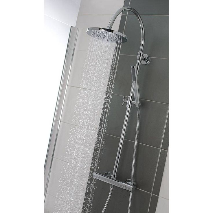 IAria Round Head Shower Riser System half price in Victoria plumb!