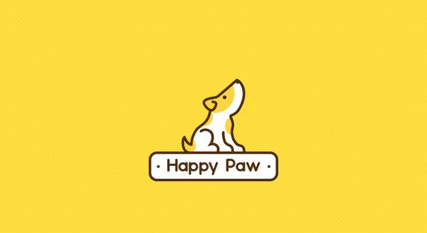 So cute!! Love this!! Happy Paw on the Behance Network