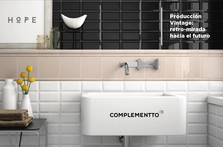 ◘ PRODUCCIÓN VINTAGE ◘ Nuestra seña de identidad: Tradicionalidad en los procesos + Innovación y Vanguardia estética  #Cerámica #Tiles #Interiorismo
