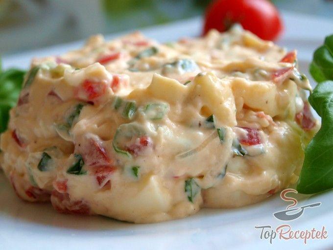 Camembert sajtos-paradicsomos szendvicskrém