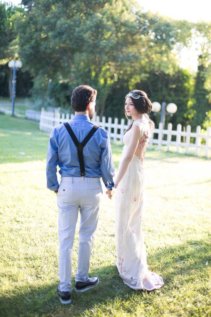 bohemian bride @cisemcakir  Photo courtesy of Nihal Ceylan nihalceylan.com