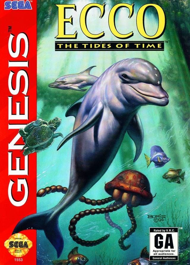Title: Ecco: The Tides of Time (Sega Genesis, 1994) UPC: 010086015539 Condition: Pre-owned. Included: Cartridge only. Tested and in good condition. Cartridge Sold as pictured. Shipping: Orders Placed