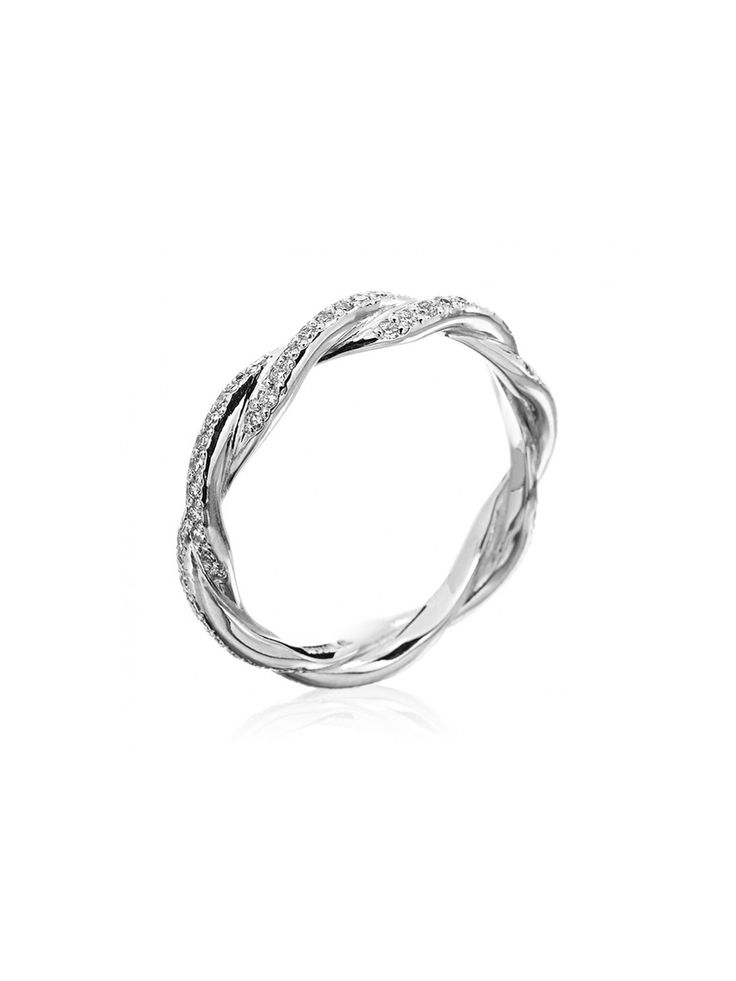 Michael B. - Platinum Double Twist Eternity Band - at - London Jewelers  Love this ring...beautiful!!