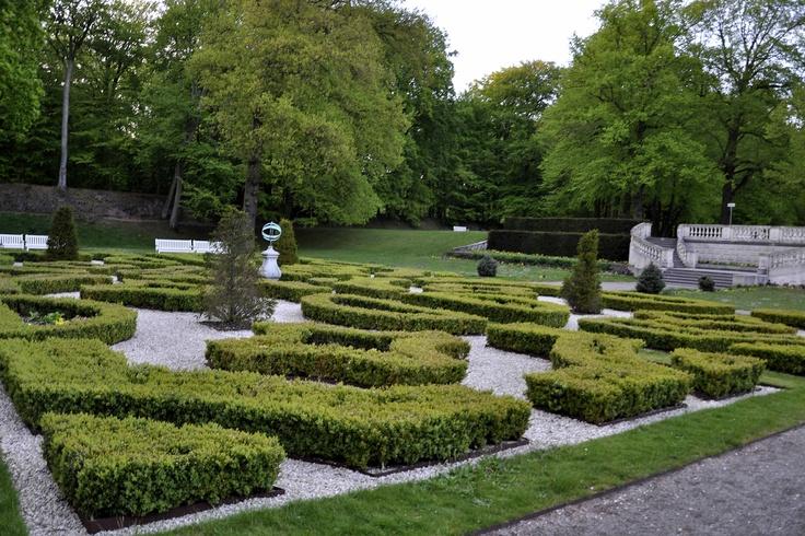Old Dutch garden