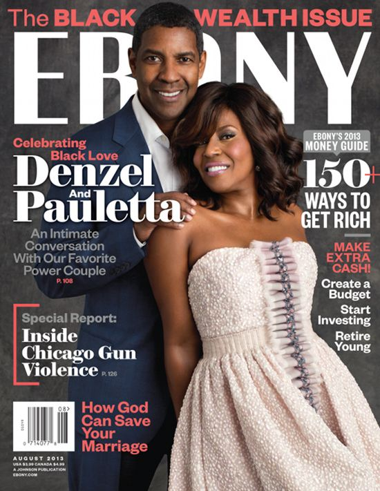 Denzel Opens Up On 30-Year Marriage: 'We Live In A Time When People Give Up Too…
