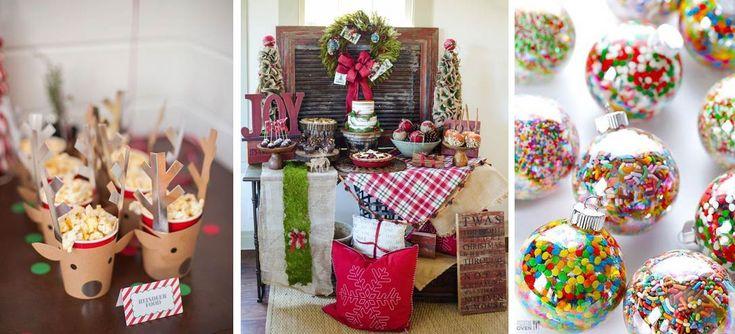 10 mesas de dulces navideñas que amarás poner en tus cenas