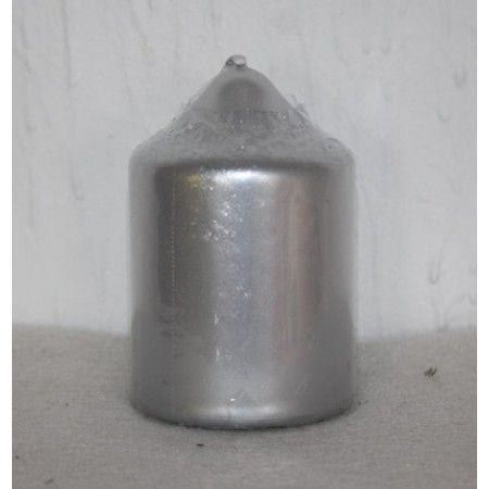 75mm/50mm Silver Chapel Candle