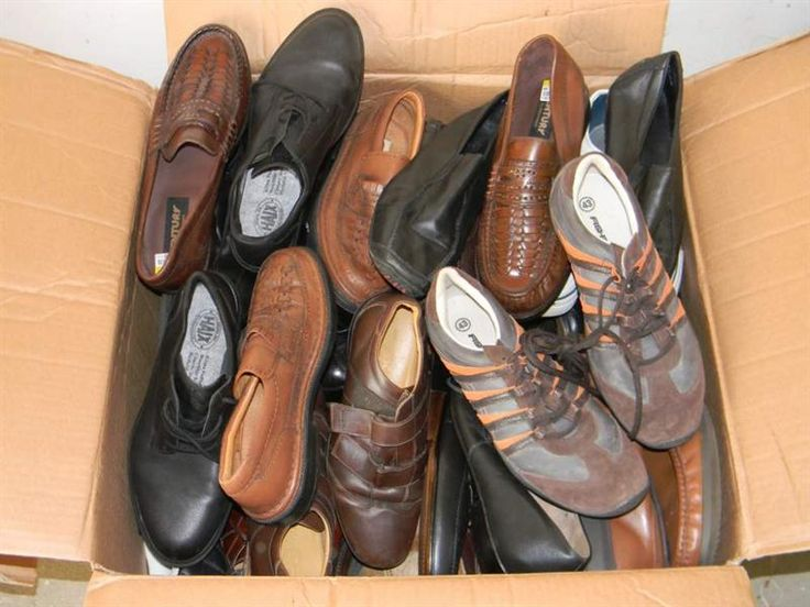 Second hand оптом обувь