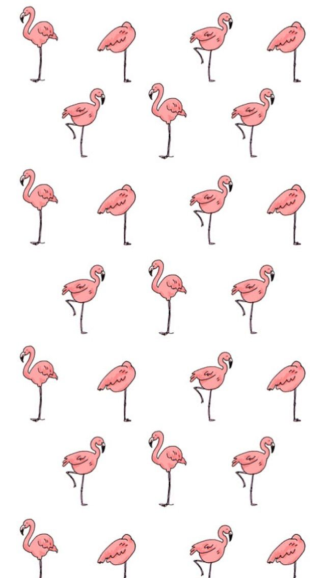 Awesome Flamingo wallpaper by Annie Seo