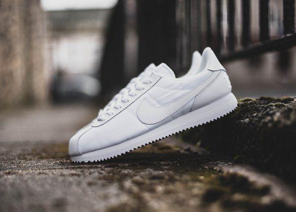 Nike Cortez Noir Et Blanche Dégradé